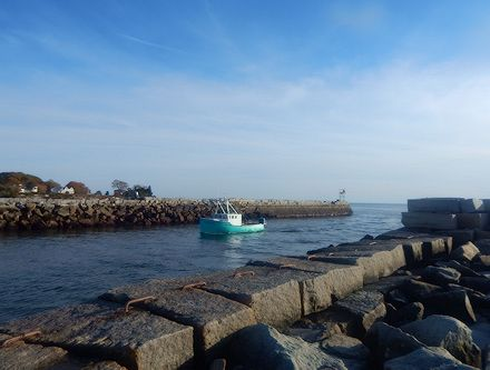 Kennebunk River Breakwater